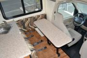 Camper1 Alaska 20ft Class C Gold motorhome rental anchorage