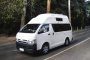 Real Value Hitop new zealand airport campervan hire