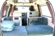 2/3 berth Hi-top camper campervan hire - australia