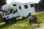 Cheapa 4 Berth campervan hire - new zealand