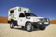 Britz 4WD TX camper hire south africa