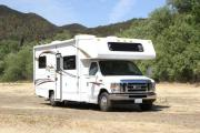 23-26 ft Class C Non-Slide Motorhome (14/15) motorhome rental usa