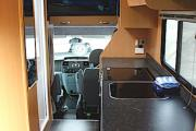 Kiwi Autohomes Motorhome Rental Concord 4 Berth Deluxe new zealand camper hire