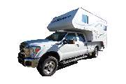 16' Pickup Camper (23' tot. length) rv rental canada