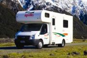 Apollo Motorhomes NZ 4 Berth Euro Camper new zealand airport campervan hire