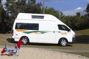 Apollo Motorhomes NZ 2/4 Berth Endeavour Camper motorhome rental new zealand