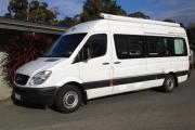 Mercedes Sprinter 2ST campervan hirehobart