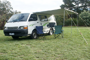 2 berth - Funkampa campervan hireadelaide