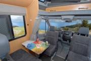 Pacific Horizon Travel Homes 6 Berth SAM campervan hire wellington