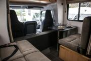 Kiwi Campers NZ Deluxe 7 Berth Mitsubishi Canter motorhome rental new zealand