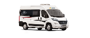 Touring Cars - UK TC Van or similar motorhome rental uk