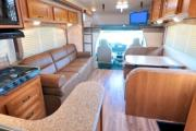 Camper1 Alaska 32ft Class C Freelander Bunk House Silver motorhome rental anchorage