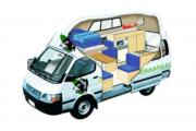 3+2 Trail Finder campervan hire - australia