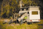 Bush Camper: 4 Berth 4WD campervan hire australia