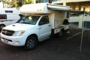 2 Berth 4WD Adventurer campervan hiredarwin