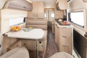 2 Berth - Campervan motorhome rental - uk