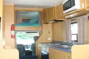 Ace Campervans 4 Berth Mercedes Sprinter motorhome rental new zealand
