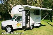 Driveabout Campers 2 Seater Compact Motorhome motorhome hire brisbane