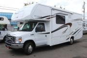 26 ft Class C Fleetwood Jamboree Searcher motorhome rentalusa
