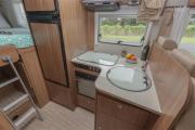 Kiwi Campers NZ 4 Berth Ranger new zealand camper hire