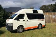 2 Berth Hi Top campervan hire australia