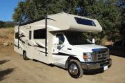 Road Bear RV 27-30 ft Class C Motorhome with slide out camper rental colorado