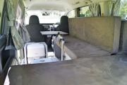 Deluxe Sleepervan campervan hire - new zealand