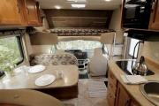 Ambassador RV MH 23 ft Non-Slide Class C rv rental canada