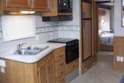Compass Campers USA AS32 Class A Motorhome with Slide usa airport motorhomes