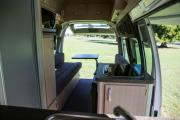 Nomad Motorhome and Car Rentals Foton Adventurer new zealand airport campervan hire