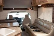 Compass Campers USA C28 Class C Motorhome rv rental texas