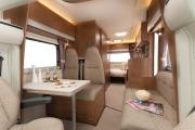 Discover NZ Motorhomes 4/5 berth Tribute campervan hire wellington