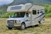 Star Drive RV USA 19- 22 ft Class C Non-Slide Motorhome cheap motorhome rental las vegas