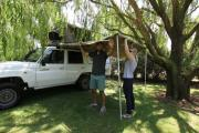Britz Campervan Rentals AU Safari Landcruiser 4WD campervan rental perth
