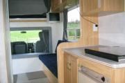 Nomad Motorhome and Car Rentals 4 Berth Motorhome - Diesel motorhome rental new zealand