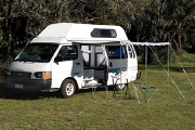 3-4 Berth: The Hume campervan hireadelaide