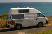 Mighty Campers 2 Berth Highball campervan hire adelaide