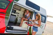 Mighty Campers 3 Berth Jackpot campervan hire australia