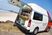 Mighty Campers 3 Berth Jackpot campervan hire darwin