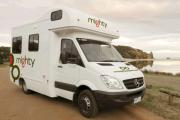 Mighty Campers 4 Berth Doubleup campervan hire alice springs