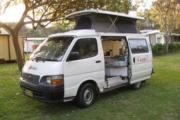 Keen As Campers Toyota Hiace campervan hire australia