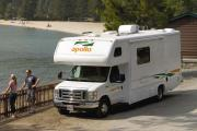 22ft Class C - Happy Explorer motorhome rental usa
