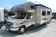 Traveland RV Rentals Ltd 31' Class C motorhome rental vancouver