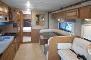 Traveland RV Rentals Ltd 31' Class C motorhome rental canada