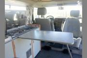 Van IT Campervan 4 seats Comfort T4 + campervan rentals france