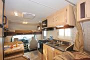 Compass Campers Canada C-Medium (MH22) motorhome rental calgary