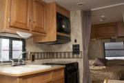 Mighty Campers USA EC25 Class C Motorhome rv rental texas