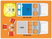 Travellers Auto Barn Stationwagon (2-5 persons) camper hire cairns