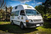 Happy 3 Berth Camper campervan hire - new zealand