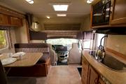 MH 23 ft Slide Class C rv rental - canada